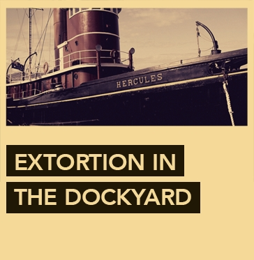 Escape Game Extortion in the Dockyard, Escape Hunt. Sydney.
